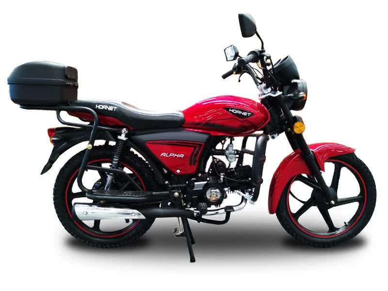 Мотоцикл HORNET Alpha (LUX) 125куб.см красный