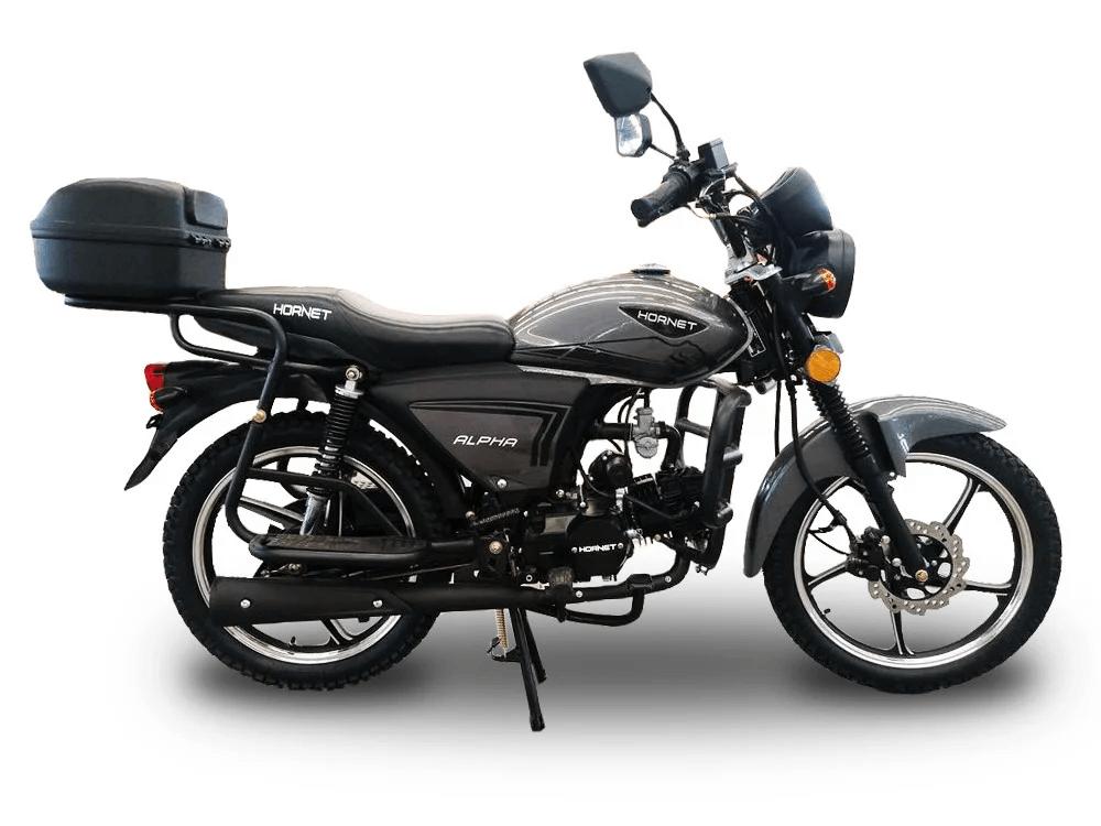 Мотоцикл HORNET Alpha 125куб.см. графит с дисковым тормозом